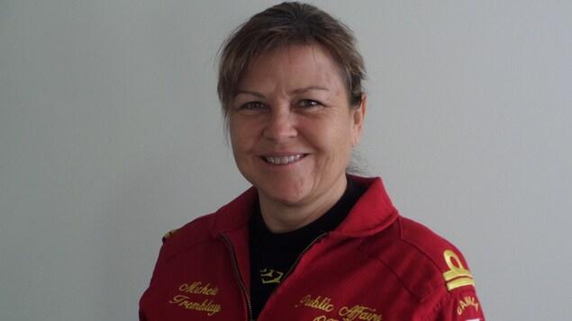 Michèle Tremblay, officier des affaires publiques pour les Snowbirds