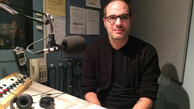 Patrick Desbiens, président du Réseau Maisons Oxygène et codirecteur de l'organisme Homme Aide Manicouagan