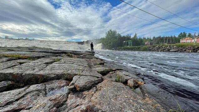 La Rivière-aux-Rochers à Port-Cartier