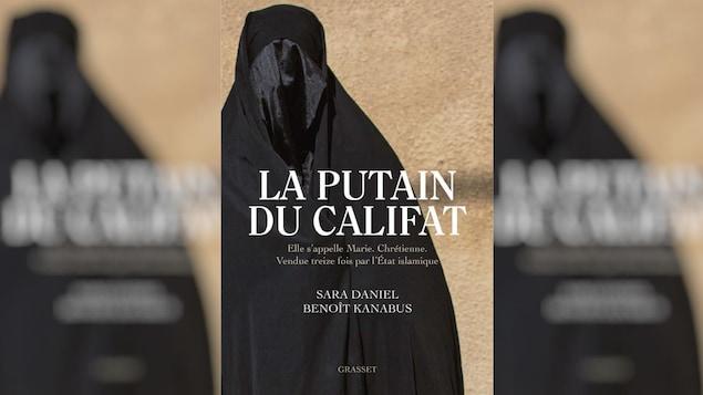 Couverture du livre montrant la photo d'une femme portant un voile intégral.