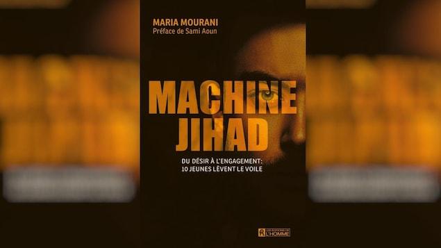 La couverture du livre affiche le titre en gros et le profil d'un homme.