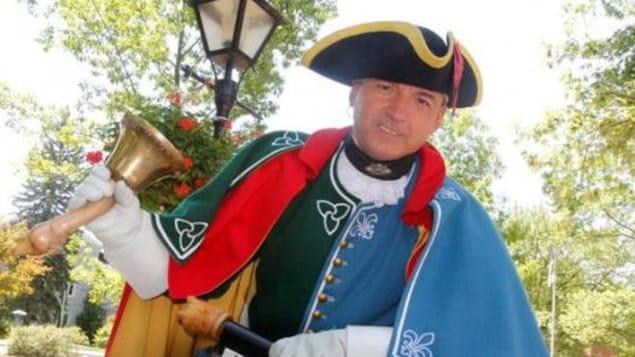 Daniel Richer, crieur Officiel de la Région de la Capitale-Nationale Ottawa-Gatineau et Crieur Provincial de l'Ontario