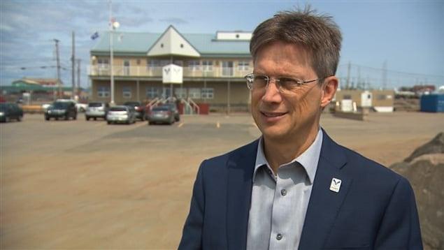 Le président-directeur général du Port de Sept-Îles, Pierre D. Gagnon