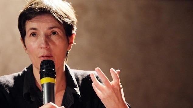 L'auteure française Christine Angot en 2009 (archives)