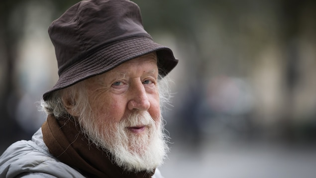L'astrophysicien Hubert Reeves à Paris, en 2013
