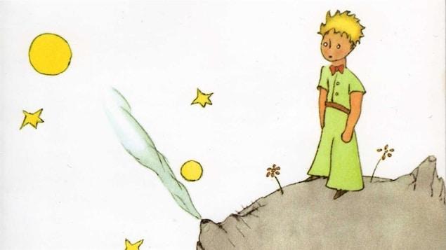 Une illustration tirée du <i>Petit Prince</i> d'Antoine de Saint-Exupéry, publié aux éditions Gallimard.