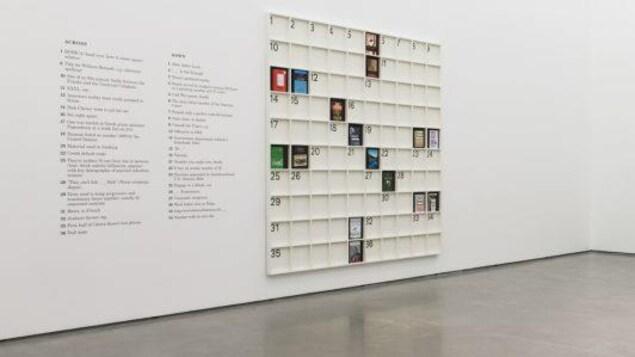 Une gallerie d'art contemporain.