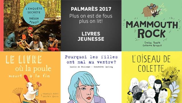 Quelques-uns des meilleurs livres jeunesse parus en 2017 selon l'équipe de <em>Plus on est de fous, plus on lit!</em>