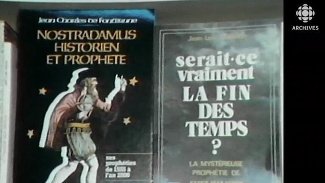 Jacquette du livre de Jean-Charles de Fontbrune  Nostradamus, historien et prophète