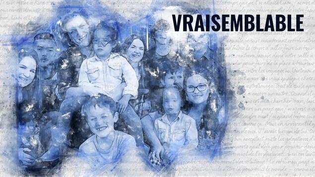 Toute la famille Wagner, incluant Kris Chung, en 2017.
