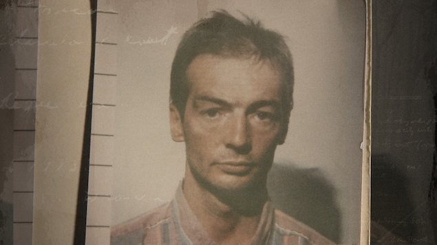 Daniel Jolivet lors de son arrestation en 1992