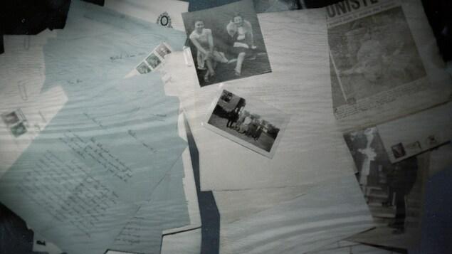 Les documents retrouvés par Stéphane Berthomet