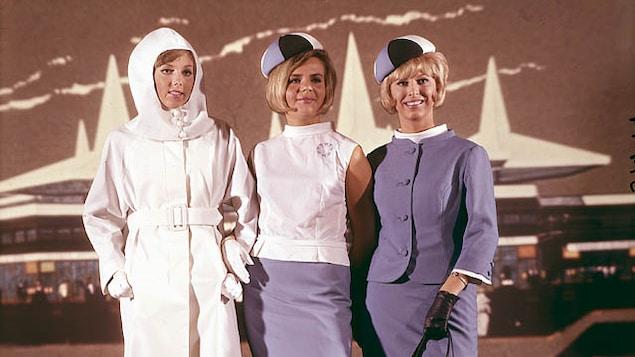 Les uniformes des hôtesses de l'Expo 67, signés Michel Robichaud