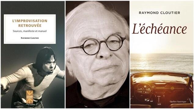 L'auteur et comédien Raymond Cloutier