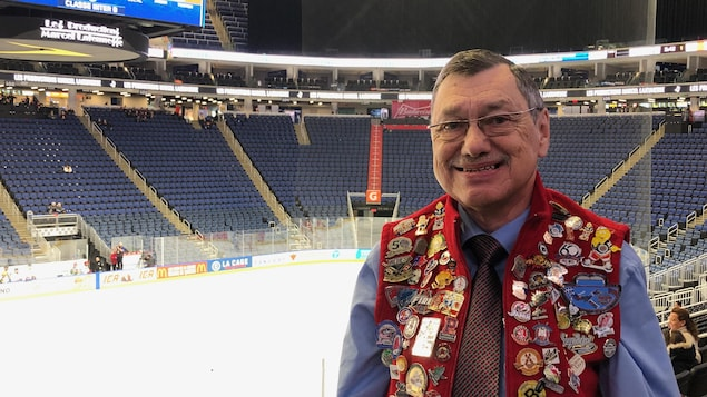 Raymond Labrecque, un fidèle partisan du Tournoi International de Hockey Pee-Wee de Québec