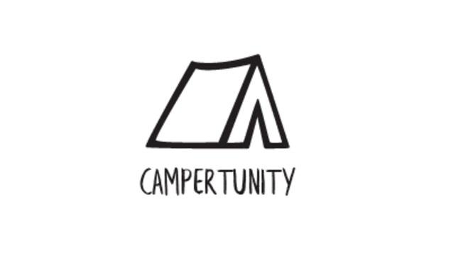 Le logo de la plateforme Campertunity.