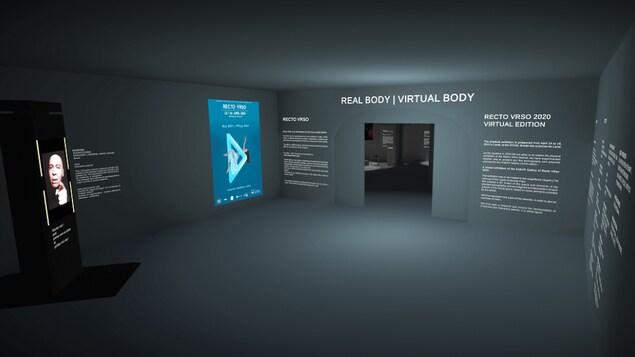 une salle en réalité virtuelle.