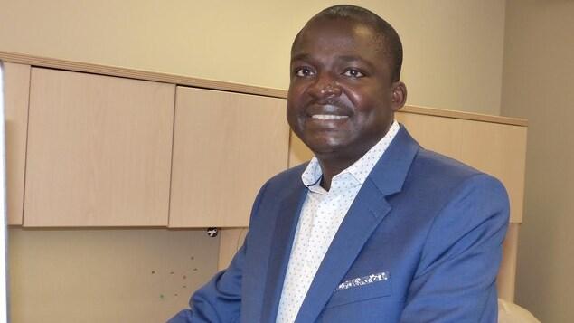 Le médecin-conseil en santé publique au CISSS de la Côte-Nord, Richard Fachehoun