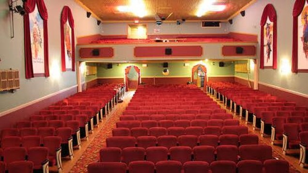 Une ancienne salle de cinéma