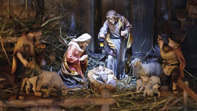 La scène de la Nativité