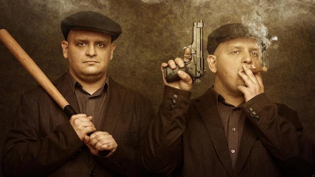 Des jumeaux criminels.