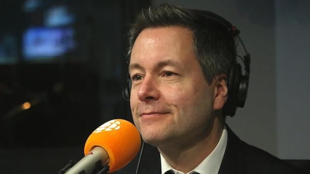 Sébastien Bovet, en studio