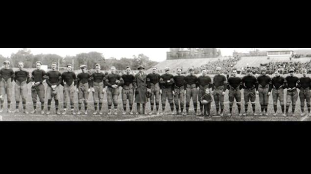 Une photo officielle d'une équipe de football