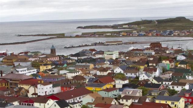Paysage de Saint-Pierre-et-Miquelon.