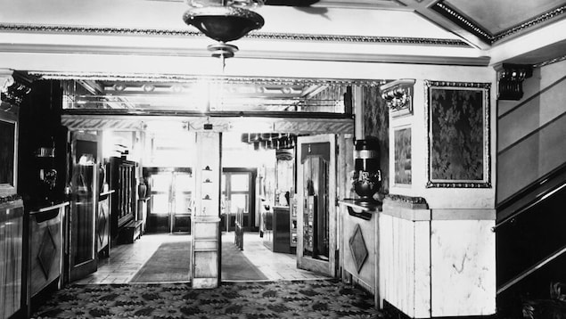 Une ancienne photo du théâtre Sherman Grand de Calgary