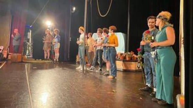 L'artiste septilienne Laurence Petitpas est partie en tournée avec la troupe Le Théâtre de Tempo en Allemagne.