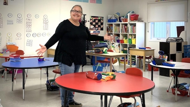 Annie Guay, enseignante en première année à l'école l'Accueil