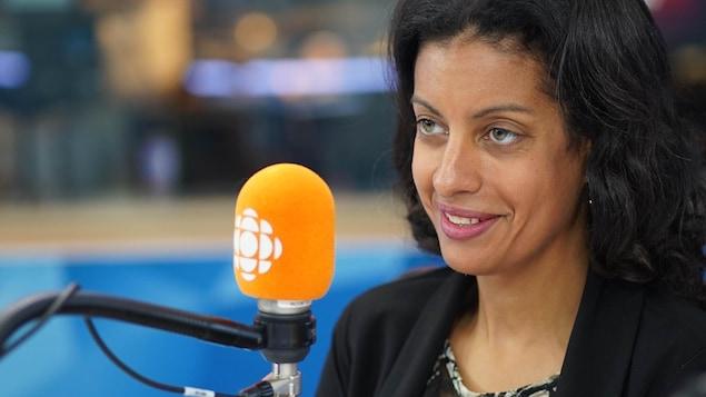 La cheffe du Parti libéral du Québec Dominique Anglade
