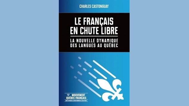 La couverture du livre « Le français en chute libre ».