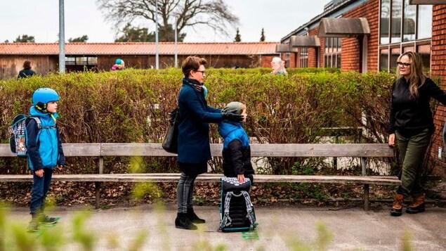 Au Danemark, les écoles et les garderies sont rouvertes depuis mercredi.