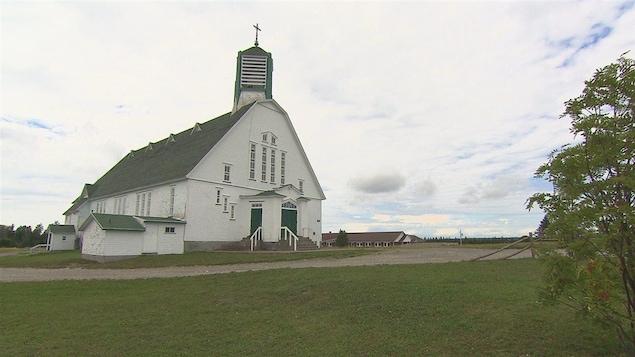 L'église de Saint-Octave-de-l'Avenir.