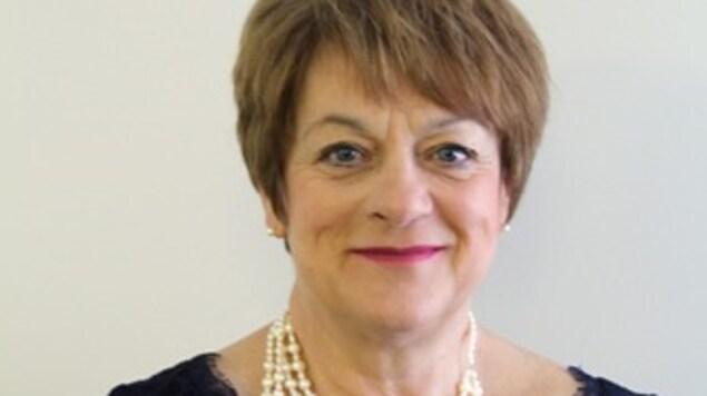 Violaine Doyle, candidate et mairesse sortante de Port-Cartier
