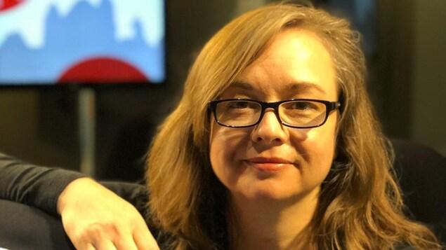 Barbara Gilbert, directrice du centres d'arts médiatiques, le Labo.