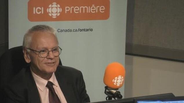 Le président en charge du nucléaire, d'Ontario Power Generation, Dominique Minière.