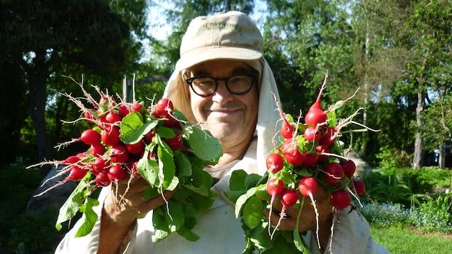 L'horticulteur Yves Gagnon