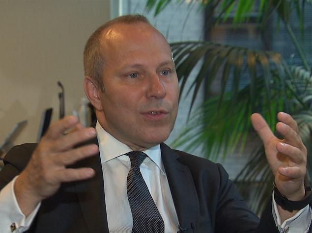 Michel Leblanc, président de la Chambre de commerce du Montréal métropolitain