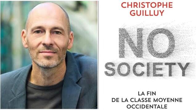 """Le géographe Christophe Guilluy, auteur de """"No society - La fin de la classe moyenne occidentale"""""""