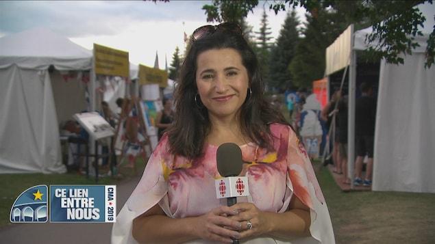 Jimena Vergara anime l'émission spéciale du CMA 2019 «Ce lien entre nous».