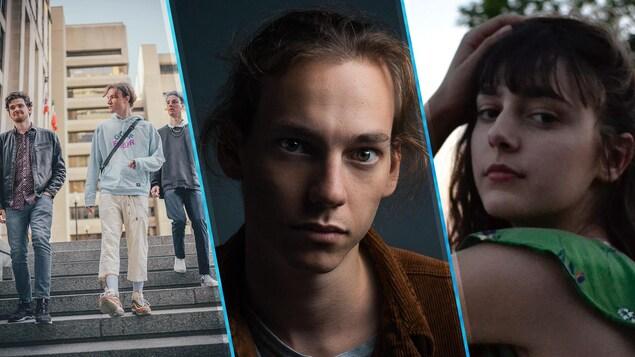 Trois artistes de la région d'Ottawa et Gatineau au Festival international de la chanson de Granby - ICI.Radio-Canada.ca