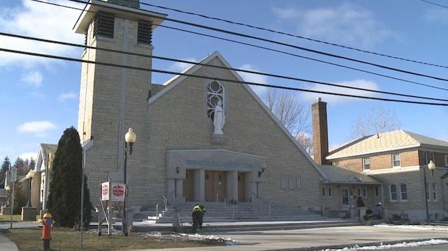 L'église Immaculée-Conception, à Drummondville.