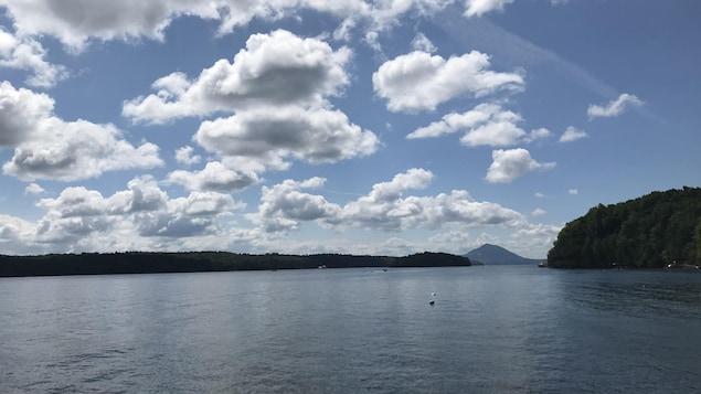 Le lac Memphrémagog