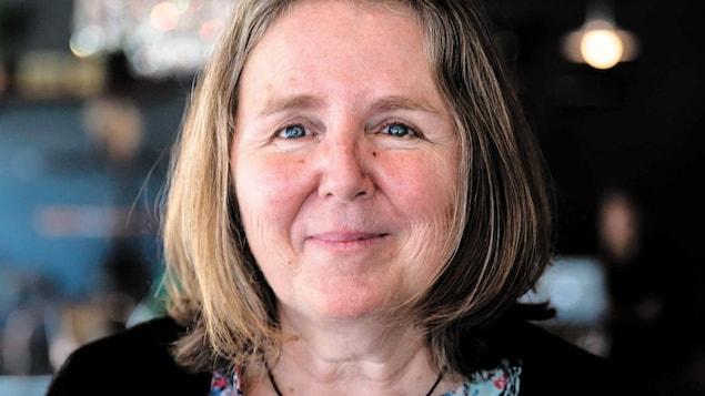 Maureen Martineau, souriante.