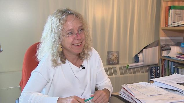 La professeure et directrice du Département sociétés, territoires et développement de l'université du Quyébec à Rimouski, Nathalie Lewis