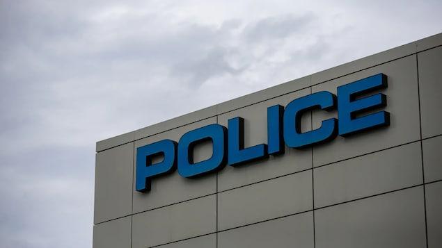 Le commissariat de la police d'Edmonton vu de l'extérieur.