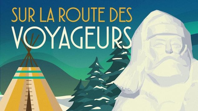 Infographie de l'émission, Sur la route des Voyageurs