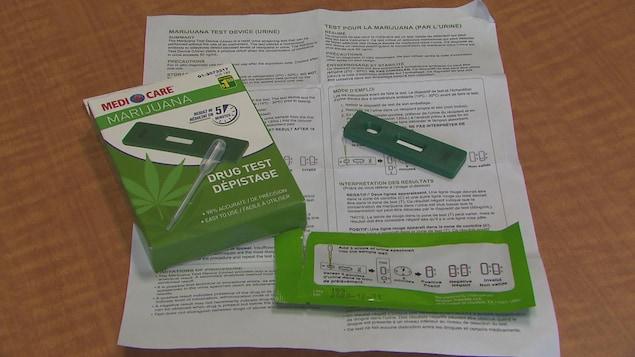 Le test de dépistage de THC de la compagnie Medicare